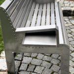 Sitzbank Metall